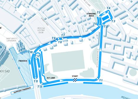 Этап серии для электромобилей с открытыми колесами состоится в Москве
