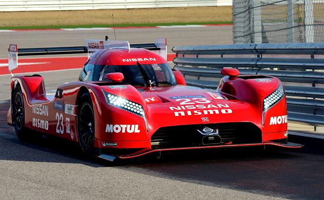 Как устроен гоночный  Nissan с передним приводом. Фото 7