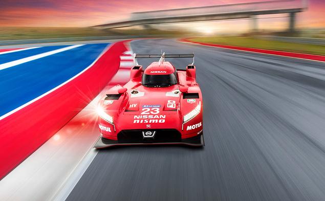 Как устроен гоночный  Nissan с передним приводом. Фото 10