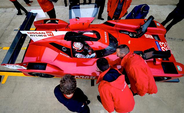 Как устроен гоночный  Nissan с передним приводом. Фото 19