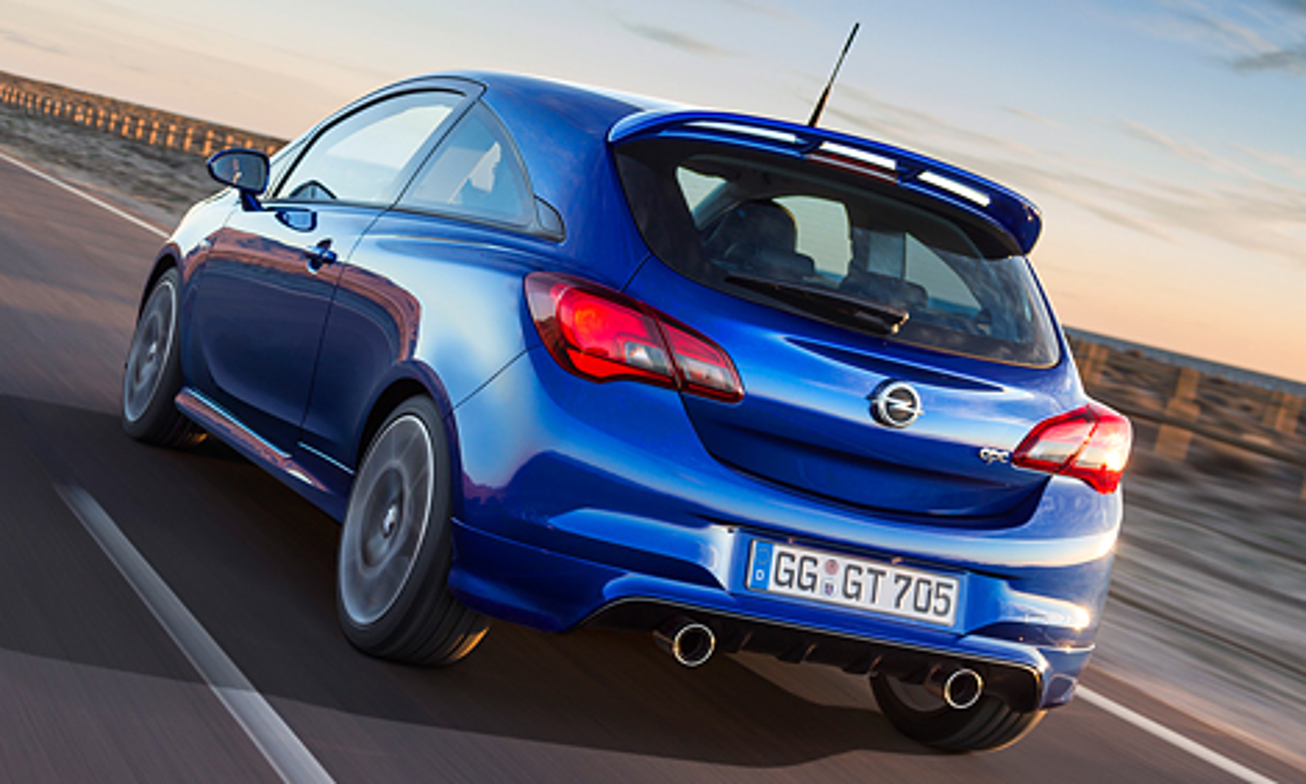 Хот-хэтч Opel Corsa OPC получил 207-сильную «четверку»