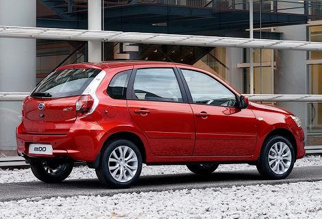 В России начали принимать заказы на пятидверный Datsun