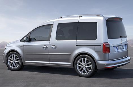 """Фургон Volkswagen сделали похожим на """"Гольф"""""""