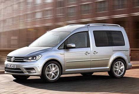 """Фургон Volkswagen сделали похожим на """"Гольф"""". Фото 2"""