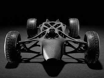 В США на 3D-принтере сделали карбоновую машину с резиномотором