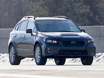 Компания Subaru вывела на тесты загадочный прототип