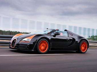 Bugatti привезет последний «Вейрон» в Женеву