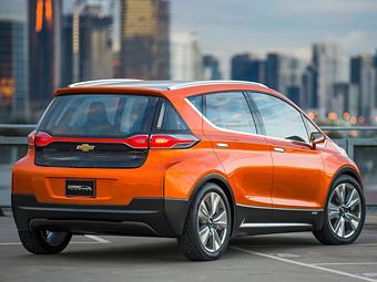 Chevrolet запустит в серию доступный электрокар