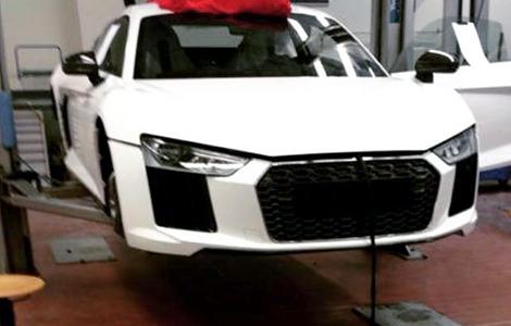 Шпионы сфотографировали машину на дорожных испытаниях. Фото 2