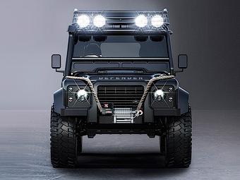Jaguar и Land Rover показали автомобили для новой «бондианы»