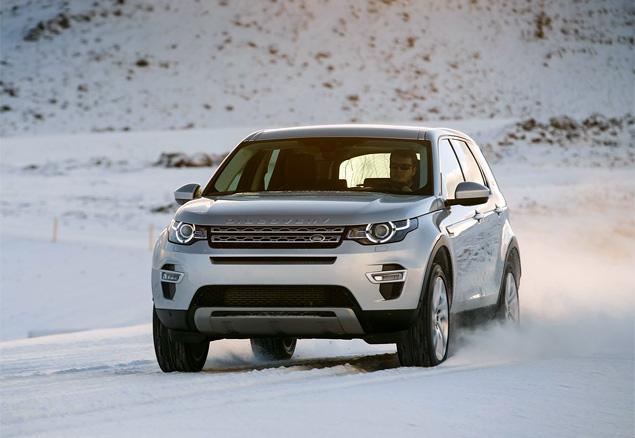 Тест Land Rover Discovery Sport, едва не завершившийся в сугробе. Фото 1