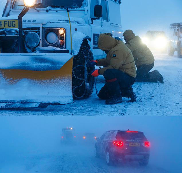 Тест Land Rover Discovery Sport, едва не завершившийся в сугробе. Фото 10