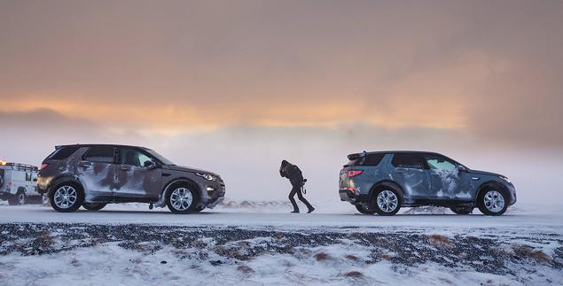Тест Land Rover Discovery Sport, едва не завершившийся в сугробе. Фото 11
