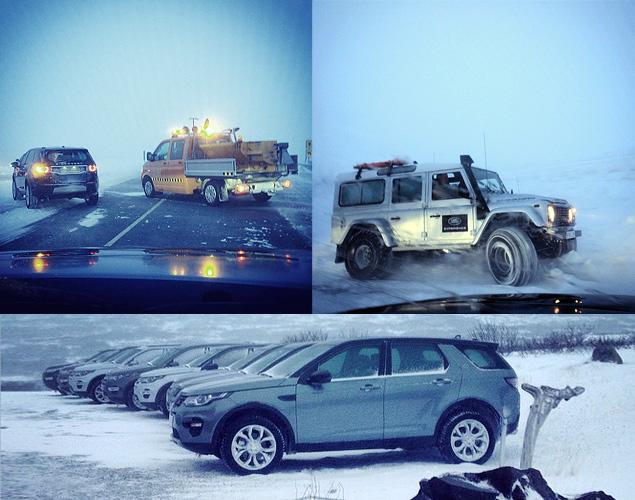 Тест Land Rover Discovery Sport, едва не завершившийся в сугробе. Фото 12