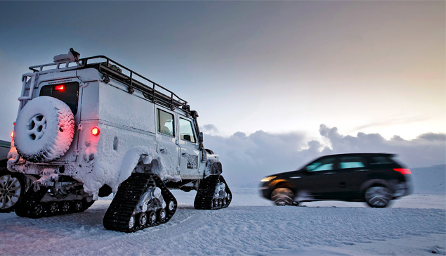 Тест Land Rover Discovery Sport, едва не завершившийся в сугробе. Фото 13
