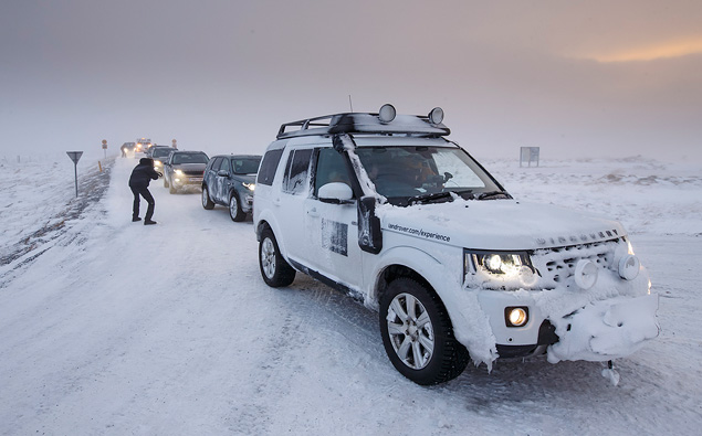 Тест Land Rover Discovery Sport, едва не завершившийся в сугробе. Фото 14