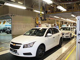 Остановка завода GM в России затронет две модели