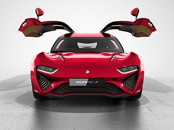 В Женеву привезут 1090-сильный «квантовый» спорткар
