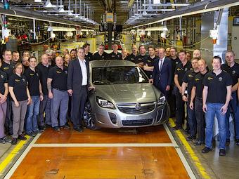 В Германии собрали первый Holden для Австралии