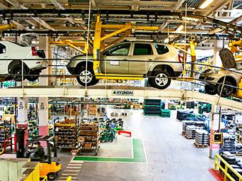 Renault остановит московский завод на три недели