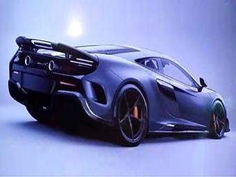 Опубликовано первое изображение «заряженного» McLaren 650S