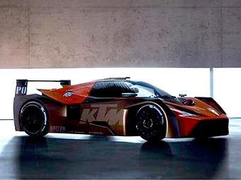 Компания KTM подготовила спорткар X-Bow к гонкам