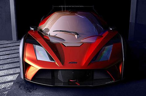 KTM X-Bow GTR оценили в 139 тысяч евро. Фото 1