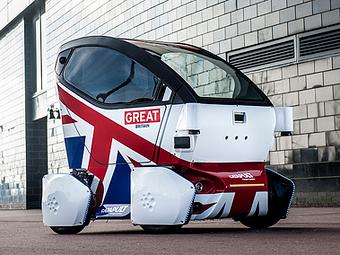 Британцы создали первый беспилотник для тротуаров