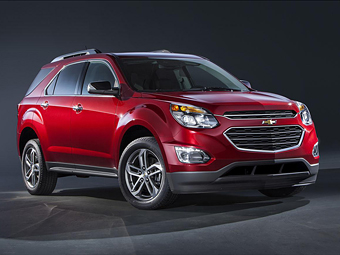 Кроссовер Chevrolet Equinox обновился