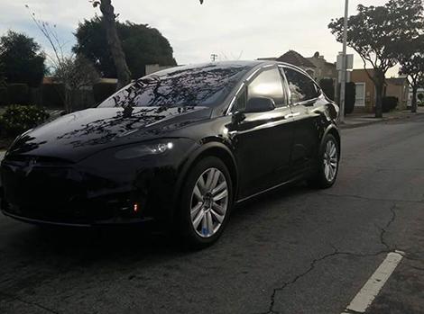 Tesla Model X заметили во время испытаний