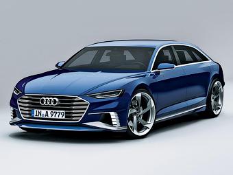 Audi привезет в Женеву универсал в стиле Porsche Panamera