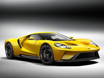 Ford доверит выпуск нового суперкара GT канадским гонщикам