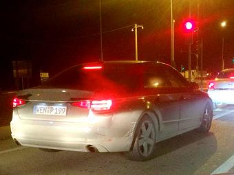Audi A4 нового поколения сфотографировали без камуфляжа