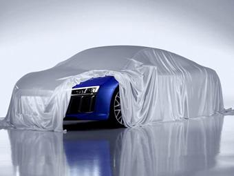 Компания Audi намекнула на внешность R8 нового поколения