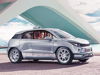 Швейцарцы оснастили BMW i3 «перископом»