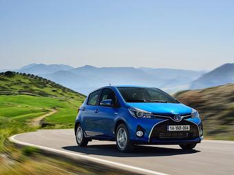 Lexus привезет в Женеву хэтчбек на базе Toyota Yaris