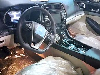 Появились снимки интерьера нового Nissan Maxima