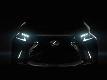 Lexus показал изображение концепт-кара для Женевы