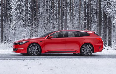"""В Женеве дебютирует прототип Kia с кузовом """"Shooting Brake"""""""