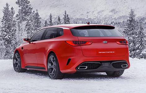 """В Женеве дебютирует прототип Kia с кузовом """"Shooting Brake"""". Фото 1"""