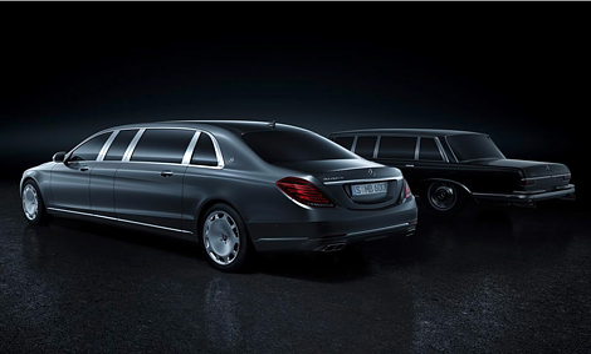Представлена самая длинная версия Mercedes-Benz S-Class. Фото 3