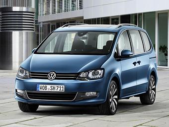 Volkswagen впервые обновил минивэн Sharan