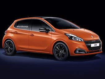 Появились изображения обновленного Peugeot 208