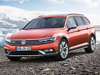 Новый VW Passat стал вседорожным