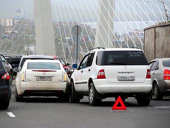 В России будут штрафовать за затруднение проезда при мелких ДТП