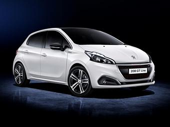 Хэтчбек Peugeot 208 обновился