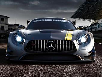 """""""Мерседес"""" показал облик гоночного суперкара AMG GT"""