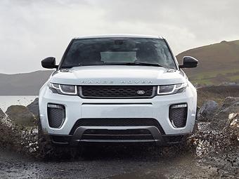 Кроссовер Range Rover Evoque обновился