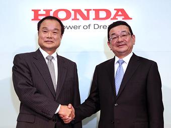«Хонда» объявила о смене президента