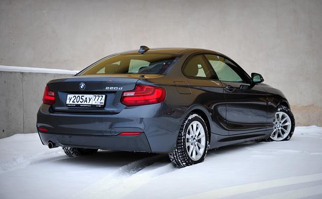 Длительный тест BMW 2 серии: часть первая. Фото 5